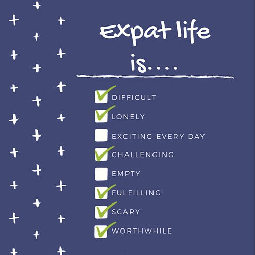 List of true things about expat life