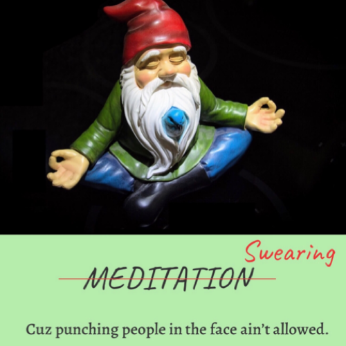 Swearing is Better Than Meditation